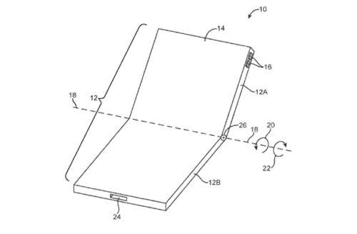 Apple уже работает над складным iPhone, чтобы конкурировать с Samsung Galaxy Fold